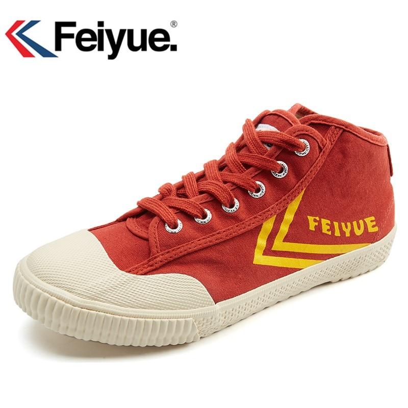 Feiyue New2019 Men Women Shoes Original Kung Fu Improve Black Shoes, New Retro Martial Arts Shoes Sneakers