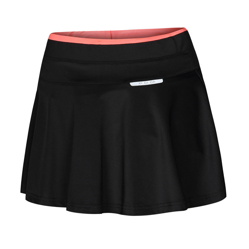 55385b8d2d Women & Girl Pleated Tennis Skirt With Safety Pants Stretch High Waist  Sport Skirt Casual Skort Badminton Skirts built in Shorts-in Tennis Skorts  from ...