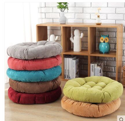 Corduroy Increase Thicker Solid Color Window Mat Floor Cushion To Sit On Tatami Mat