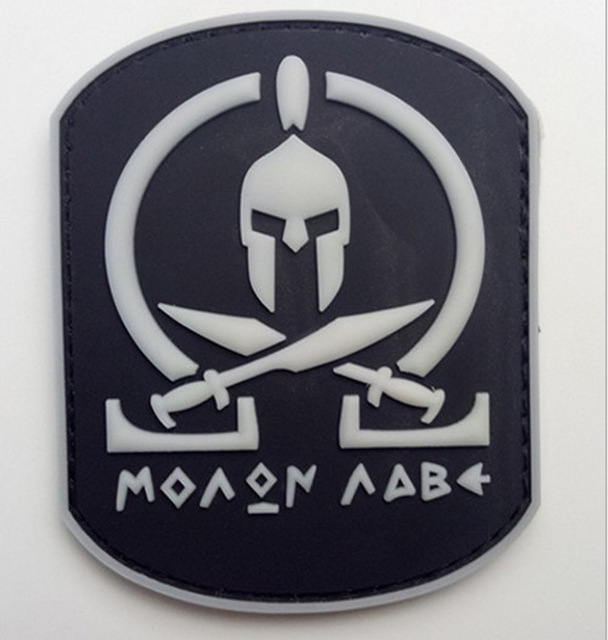 Molon Labe Russie Russe Drapeau Paintball Airsoft PVC Moral Patch