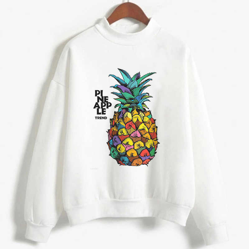 Yaz Moda Kadın Hoodies Tişörtü Harajuku Kawaii Bayan Hoodies Avokado Vegan Karikatür Baskı Kpop Büyük Boy Hoodie Tumblr