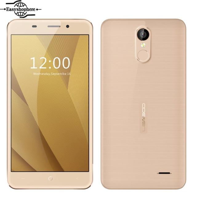 "Leagoo M5 Plus Smartphone 5.5"" HD 2GB RAM 16GB ROM Fingerprint 4G Mobile Phone MTK6737 Quad Core Android 6.0 Metal Frame Phone"