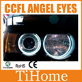 Free Shipping E53/X5 CCFL ANGEL EYES , E53/X5 NON PROJECTOR HALO RING, CCFL ANGELEYES LIGHTS FOR BMW X5/E53
