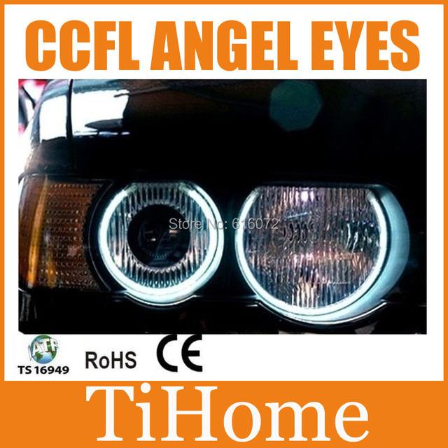 Free grátis e53/x5 ccfl angel eyes, E53/X5 NÃO PROJETOR de HALO RING, CCFL ANGELEYES LUZES PARA BMW X5/E53