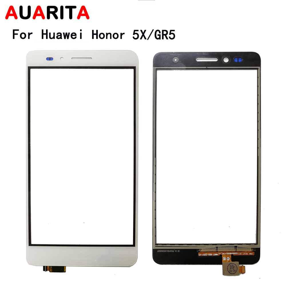 AAA quality <font><b>touch</b></font> panel <font><b>screen</b></font> For <font><b>Huawei</b></font> GR5 <font><b>Honor</b></font> <font><b>5X</b></font> Honor5X front outer glass sensor <font><b>Touch</b></font> <font><b>Screen</b></font> Digitizer replacement parts image