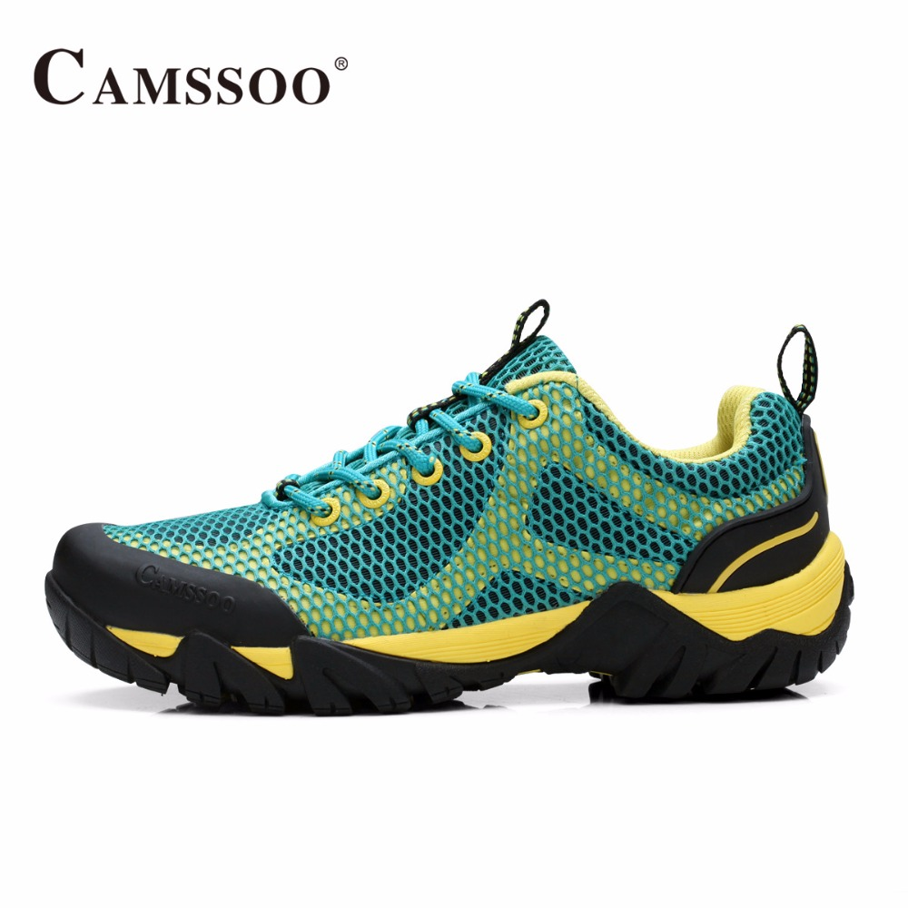 Breathable Shoes Camping Men Outdoor Hiking Shoes Walking Women Sports Trekking Sneakers Climbing Hard-wearing Mountain shoes yin qi shi man winter outdoor shoes hiking camping trip high top hiking boots cow leather durable female plush warm outdoor boot
