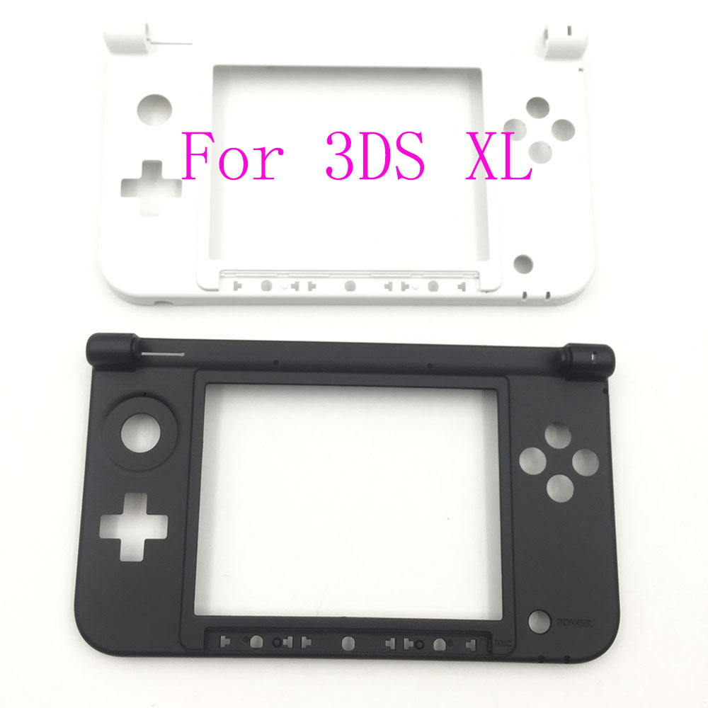 10PCS Black White Cover Case Shell Replacement For Nintendo 3DS XL 3DSXL 3DSLL