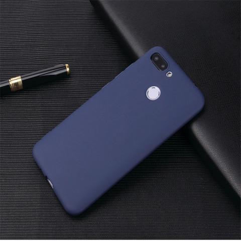 For Xiaomi Mi 8 Lite Cases Ksiomi Xiomi Mi8 Lite Cover Back Silicone Soft Ultra Thin Matte Xaomi Mi8 Lite case Multan
