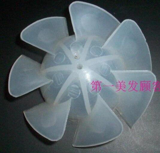 1 Pc/7 Blades Plastic Fan Blade Outside Diameter 55mm For Hair Dryer/for Panasonic Eh5571 Eh5573 Etc.