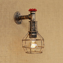 Vintage wall lamps retro loft iron light bedroom study stair corridor bar club pub restaurant cafe lamps bra wall sconce tiffany glass butterfly club corridor wall light alloy bronze arms bedroom bedsides stair case wall sconce villa balcony lamps