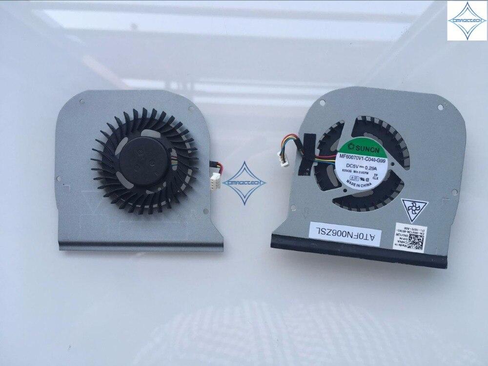 original new for DELL Latitude E6320 SUNON MF60070V1 C040 G99 E6320 laptop cpu cooling fan 0NV12R