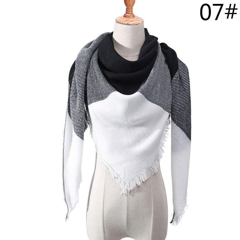 Бренд Evrfelan, шарфы, Прямая поставка, женский зимний шарф, высокое качество, плед, одеяло, шарф и шаль, большой размер, плотные шарфы, шали - Цвет: W18