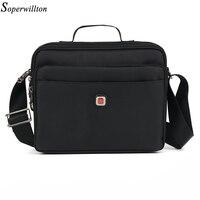 cc373a9738 Soperwillton Brand 2018 Men  39 s Bag Messenger Bags Waterproof High  Quality Zipper Oxford Bag Shoulder Bag Male Bolsas  1053XL