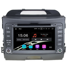 "7"" Android 8.0.0 Octa Core 4GB RAM 32GB ROM 2din Car DVD GPS Radio stereo player for Kia Sportage 2010 2011 2012 2013 2014 2015"