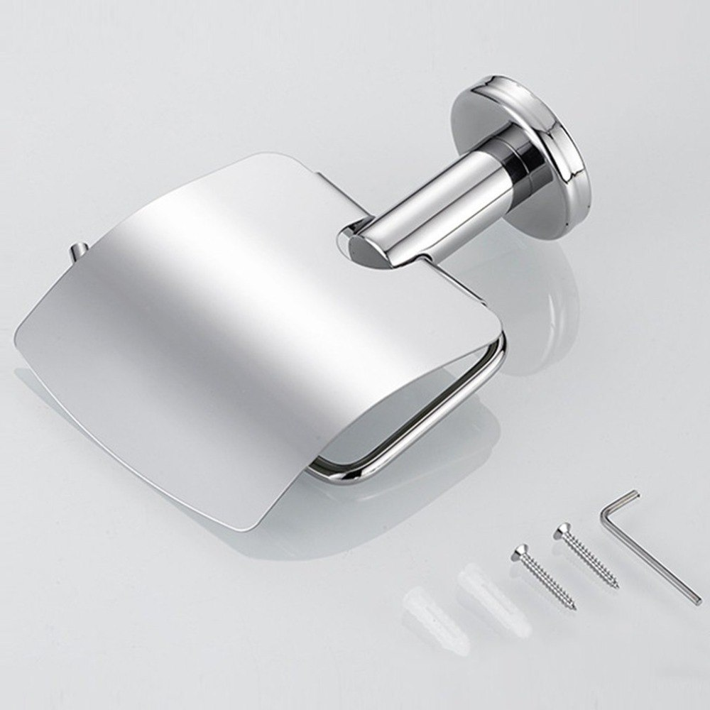 Us 4 25 Off Stainless Steel Toilet Paper Holder Tissue Multifunctional Anti Rust Bathroom Roll In