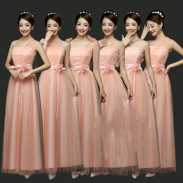 Sweet Memory Black Bridesmaid dress Pink Blue Green Red Bride sisters  dresses Promotional Price SW0050 381f8bf8b8c5