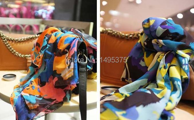 120 шт./партия, новинка, модный волшебный бегущий платок-шаль из пашмины