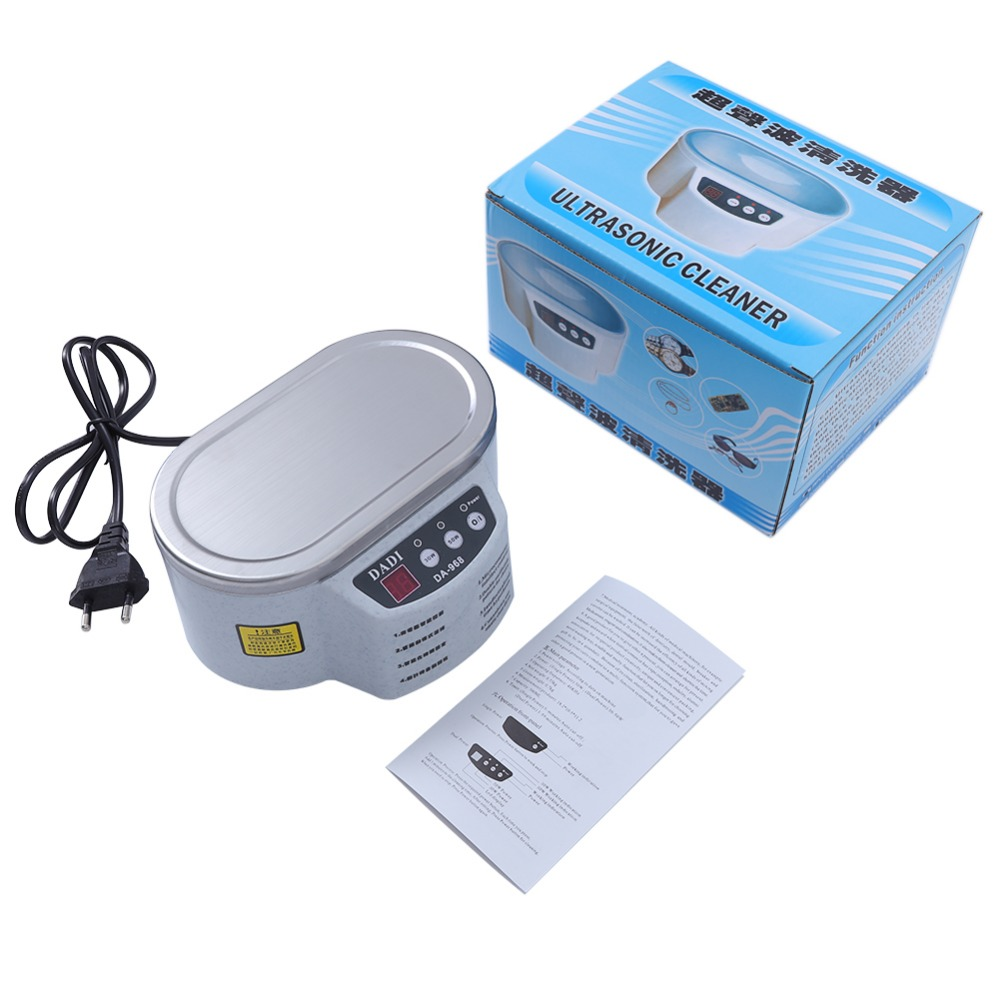Mini Ultrasonic Cleaner Made Of Stainless Steel Material For Jewelry Glasses And Watch 5