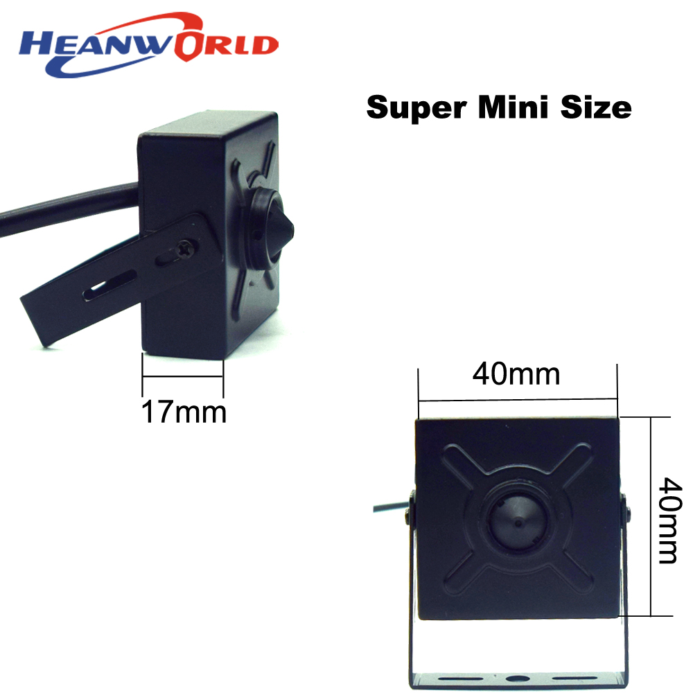Heanworld newest 1080P super mini camera ip 1920 * 1080 pixels full hd  indoor security cctv  camera onvif with 3.7mm lens Cam