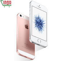 Apple iPhone SE Dual Core Cell Phones 12MP iOS Fingerprint Touch ID  2GB RAM 16/64GB ROM 4G LTE Refurbished iPhone se 2