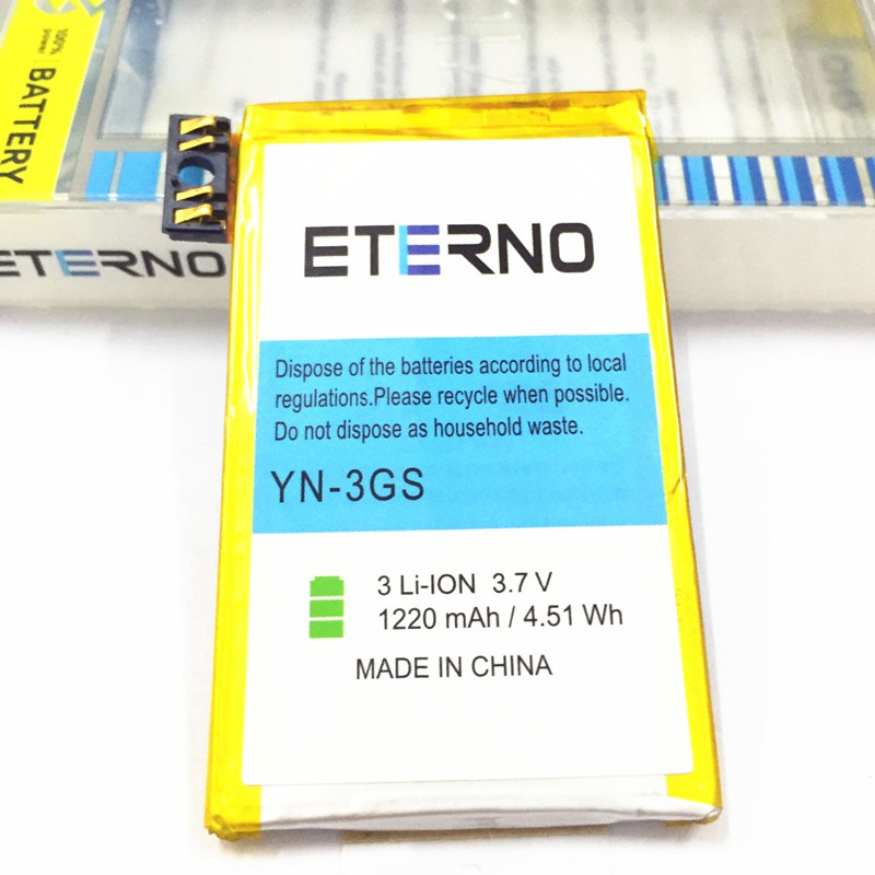 Eterno Mobile Phone 1220mAh Replacement <font><b>Battery</b></font> Bateria for iPhone <font><b>3GS</b></font> image