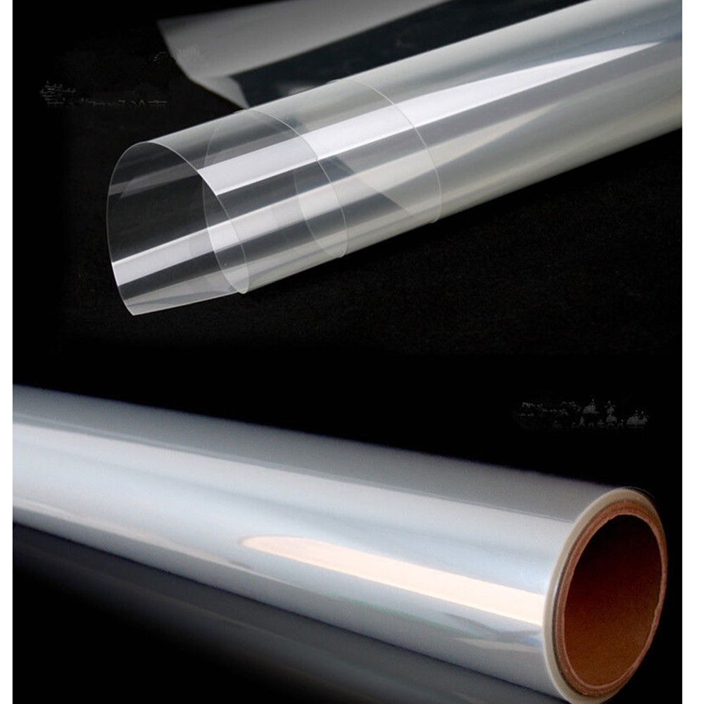 Film de sécurité incassable d'enveloppe de verre de fenêtre de vinyle de protection claire de 8mil 60