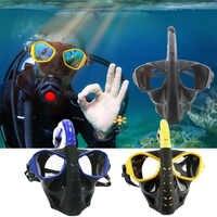 Mascara De Buceo Completa Rosto Underwater Scuba Snorkeling Set Anti fog Máscara de Mergulho Scuba Natação Destacável para Câmera Gopro