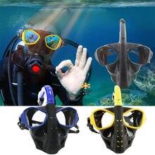 c61294f5a Máscara De Buceo De cara completa bajo el agua Buceo con conjunto  Anti-niebla máscara