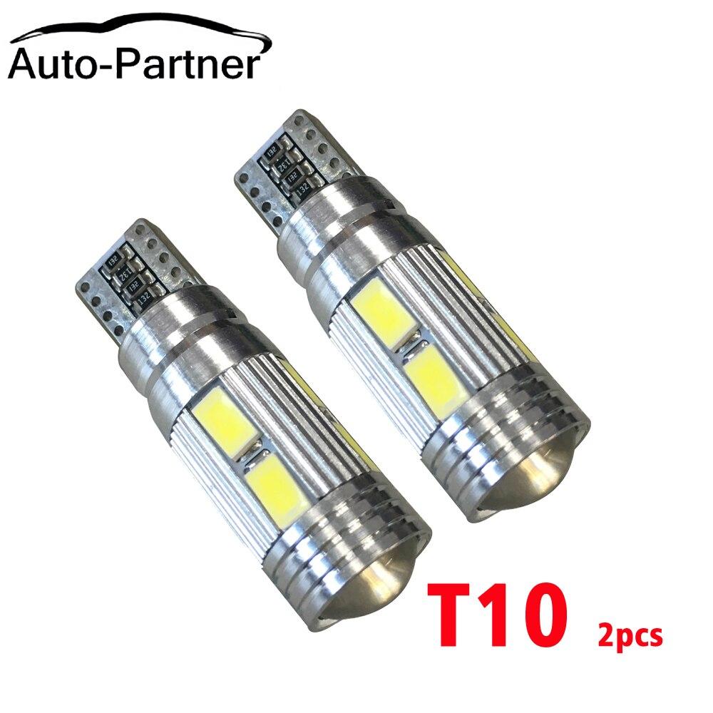 10шт высокое качество T10 10 СМД 5630 из светодиодов canbus 10SMD 5730 из светодиодов авто Клин Лампа W5W и парковка 192 194 168 на Фиат 500 500л