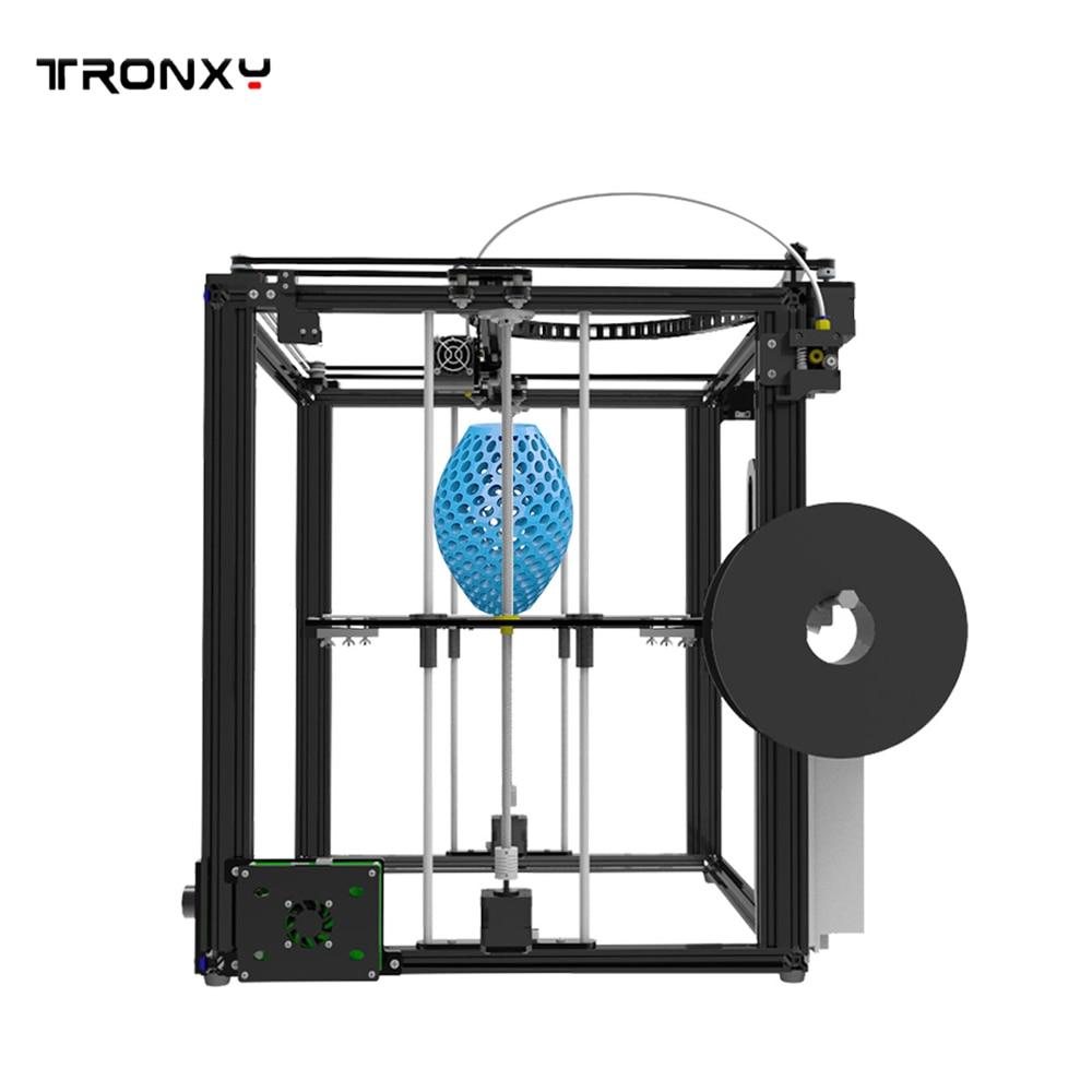 Tronxy X5S X5SA Large 3D Printer Double Z Axis Design High Precision diy kit LCD 3d printing Large Size 330*330*400mm 3D Printer - 6