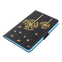 Ultra Slim Dandelion Print Stand Case Card Slot Holder Buckle Protective Skins Shell Cover For Apple iPad Mini 4 Mini4 Tablet