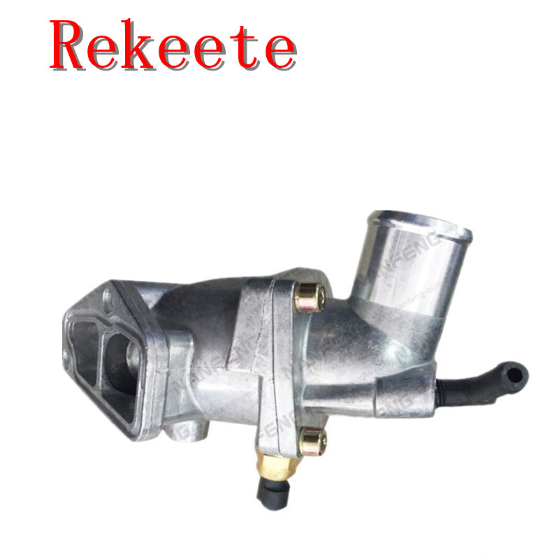 1pcs Auto cooling system thermostat for Coolant THERMOSTAT SEAL <font><b>OPEL</b></font> ASTRA G CORSA C <font><b>VECTRA</b></font> <font><b>B</b></font> C ZAFIRA image