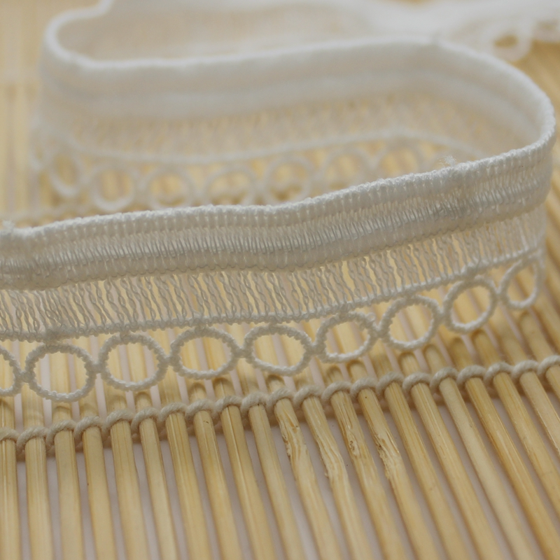 1.3 cm Flat laceTrimmings Light Blue 3 metres 1.//2 inch