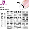 HOTSALE 11sheet/SET D383-404 Lovely Mustache Water decal Nail Stickers nail design for water transfer nail art stickers