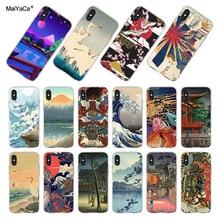 MaiYaCa estilo japonés arte Japón teléfono casos para iPhone 11 Pro Max SE 2020 6 6S 7 7plus 8 8X5 5S XR XS.