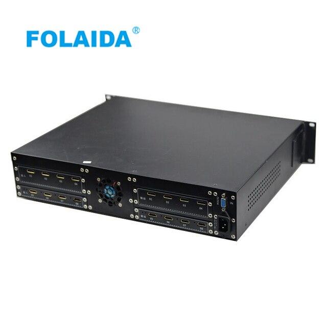 Folaida 4Kx2K 8x8 2U HDMI Matrix Switch 1.4 HD 1080P support 3D LCD Video  Display -