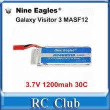 Nine Eagles Galaxy Visitor 3 NE480318 Original Battery 3 7V 1200mah 30C Li Po Battery for