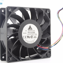 Pwm Fan 120mm TFC1212DE Delta Electronics Server Casefan for 12CM 120--120--25mm 252cfm/Vs/Pfb1212uhe/..