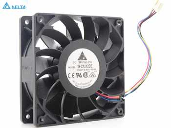 for delta 12CM  120mm 1225 12025 120*120*25MM PWM Fan TFC1212DE 252CFM vs PFB1212UHE Most Powerful Server CaseFan - DISCOUNT ITEM  33% OFF All Category