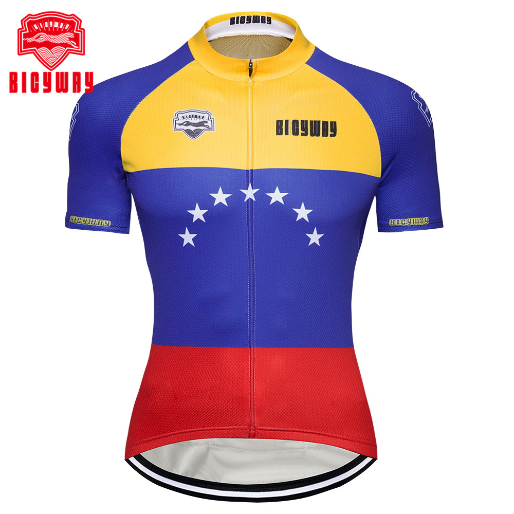 2fe54ee27 Bicyway 2018 Cycling Jersey Mtb Bicycle Clothing Bike Wear Short Maillot Roupa  Ropa De Ciclismo Hombre
