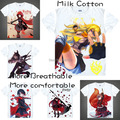 2015 RWBY Ruby Rose T Shirt Cosplay Costumes Men's Japanese Famous Anime T-shirt Unique Gift Camisetas Masculina