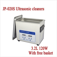 JP 020S Digital Heat Ultrasonic Cleaner 3 2L 120W AC 110V 220V Jewelry PCB Parts Cleaning