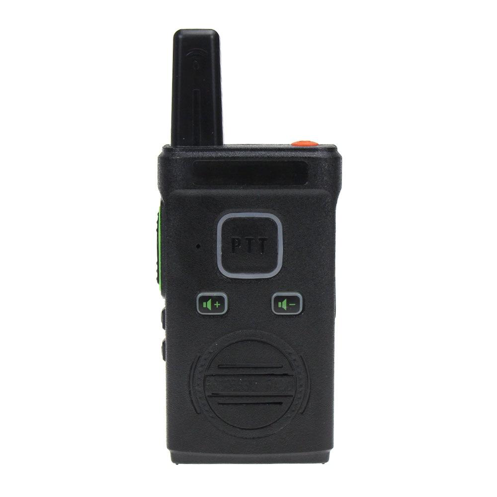 Vineyuan Mini Portable Walkie Talkie Dual PTT VOX Two-Way Radio Handheld Transceiver Walkie-Talkie