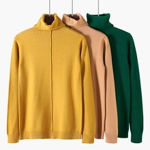 New Fashion Spring  High Collar sweater bottom knitted womans Pull Over Sweater