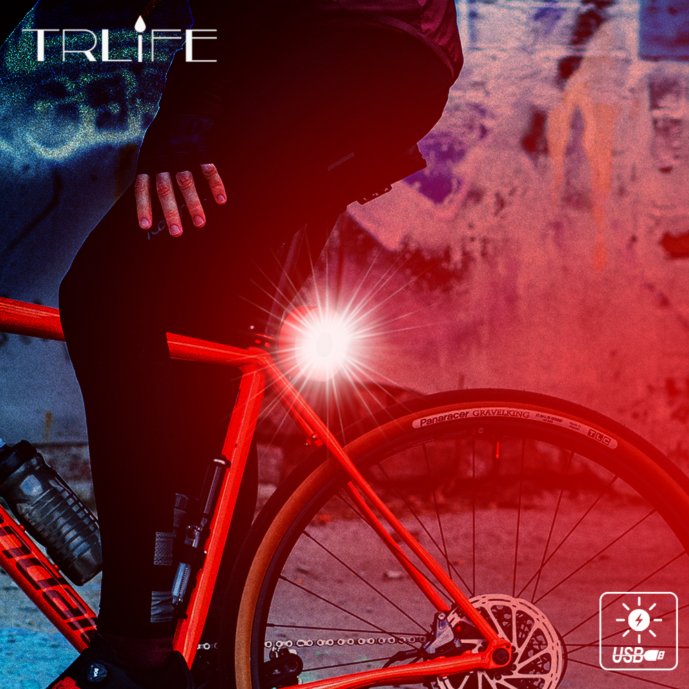 High Bright Mini LED Bicycle Tail Light Bike Rear Light Taillight USB Rechargeable IPX5 Waterproof Cycling Accessory 2018 Newest