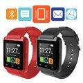 ET U8 Bluetooth Смарт Watch Шагомер беспроводной музыки Спортом бег наручные часы Носимых Цифровых Устройств для IOS android