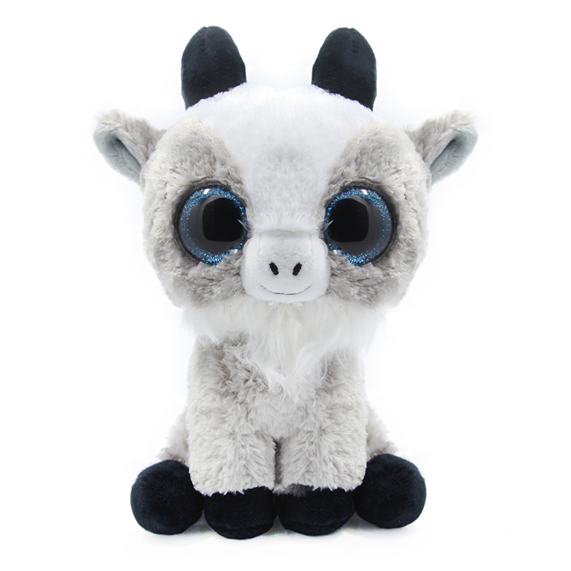 a7801cd04b0 2019 Ty Beanie Boos Gray Cat Unicorn Plush Toy Doll Baby Girl ...