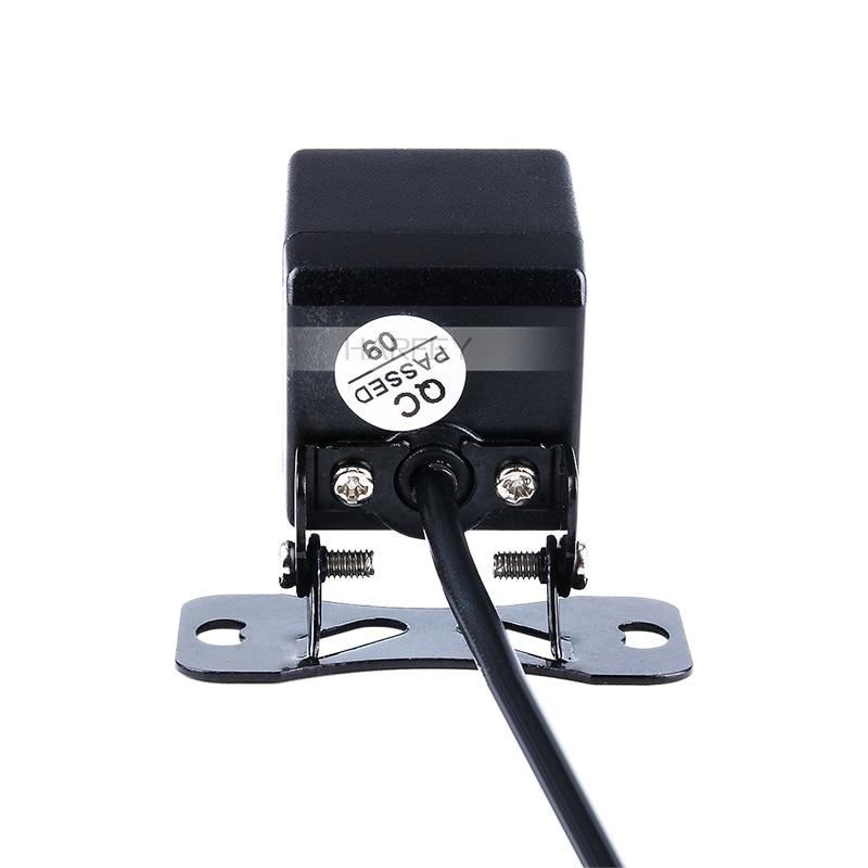 Ночное видение 8 светодиодный дисплей пластиковые пиксели провод HD Универсальная автомобильная камера заднего вида Обратный парковочный резервный монитор Комплект CCD CMOS