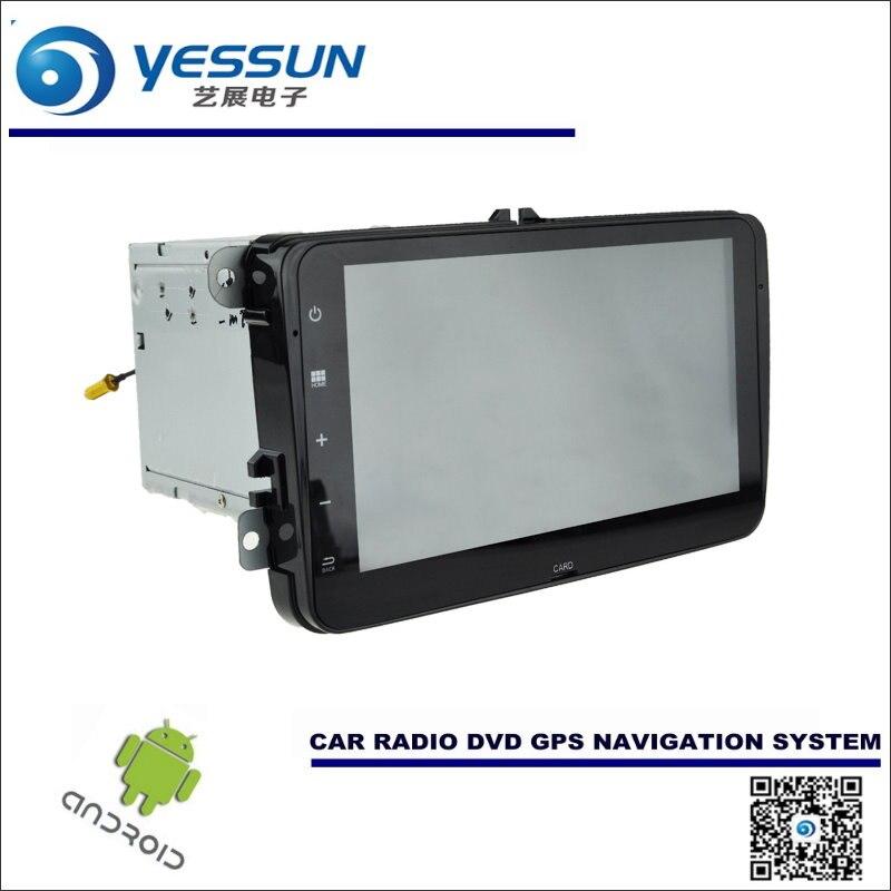 Android Car Radio Navegación CD Reproductor de DVD Estéreo DEL GPS Navi BT HD Pa