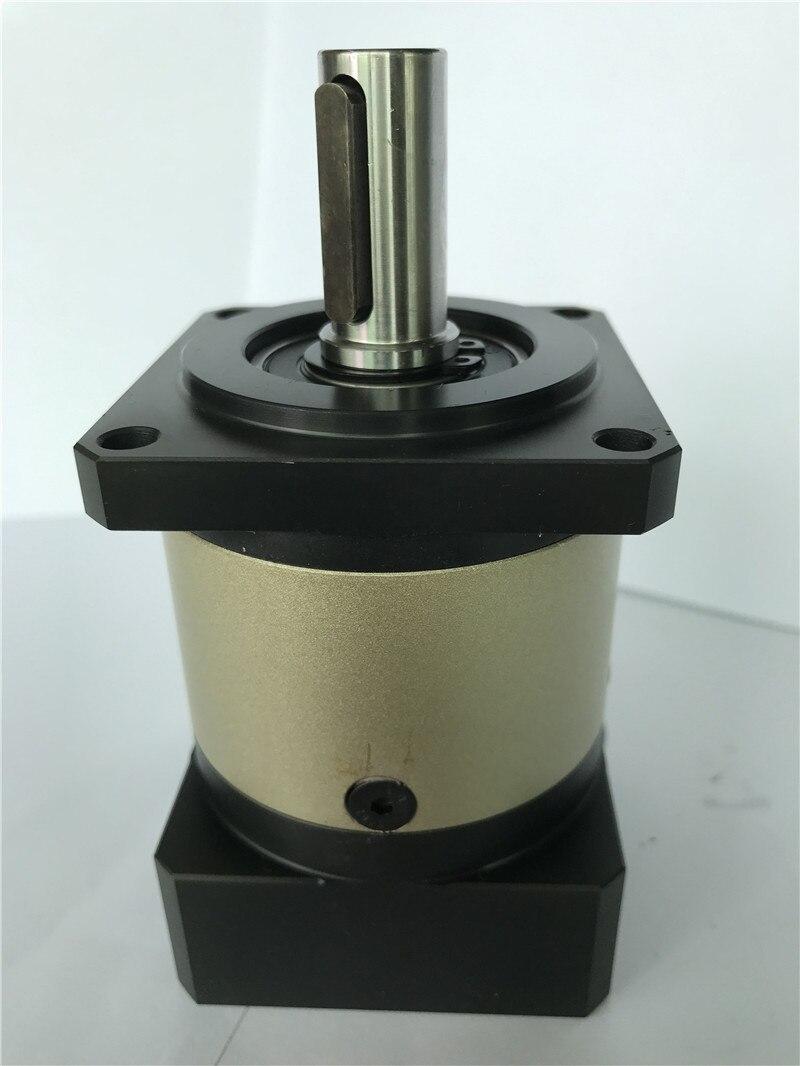 8 arcmin Wirtschaftlich planeten getriebe minderer 3:1 zu 10:1 für 60mm 200 w 400 w AC servo motor welle 14mm